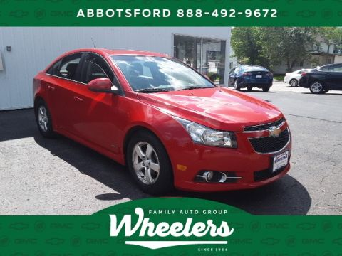 Pre-Owned 2012 Chevrolet Cruze 1LT
